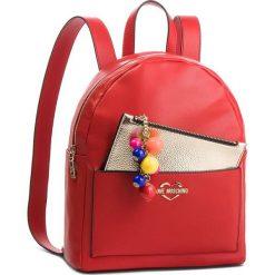 Plecak LOVE MOSCHINO - JC4107PP17LM0500 Rosso. Czerwone plecaki damskie Love Moschino, ze skóry ekologicznej, klasyczne. Za 959.00 zł.