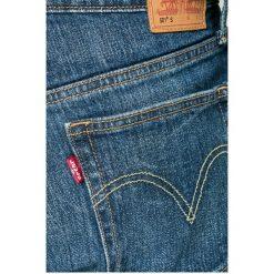 Levi's - Jeansy 501. Brązowe jeansy męskie Levi's. W wyprzedaży za 219.90 zł.