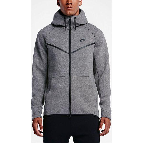 d09c0d1fa Nike Bluza męska Sportswear Tech Fleece Windrunner szara r. L (805144  091-S) - Bluzy sportowe męskie Nike. Za 377.42 zł. - Bluzy sportowe męskie  - Odzież ...