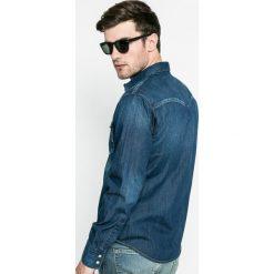 Levi's - Koszula. Brązowe koszule męskie Levi's, z bawełny, z klasycznym kołnierzykiem, z długim rękawem. Za 299.90 zł.