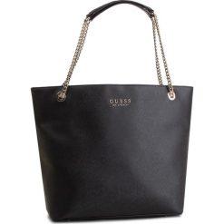 Torebka GUESS - HWEV71 80230 BLA. Czarne torebki do ręki damskie Guess, z aplikacjami, ze skóry ekologicznej. Za 589.00 zł.