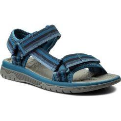 Sandały CLARKS - Balta Reef 261336587 Navy. Niebieskie sandały męskie Clarks, z materiału. W wyprzedaży za 169.00 zł.