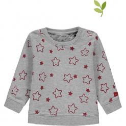 Bluza w kolorze szaro-czerwonym. Czerwone bluzy dla dziewczynek bellybutton, z bawełny. W wyprzedaży za 42.95 zł.