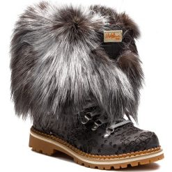 Śniegowce MONTELLIANA - Seicento M17491 Grey. Szare kozaki damskie Montelliana, z polaru. Za 2,200.00 zł.