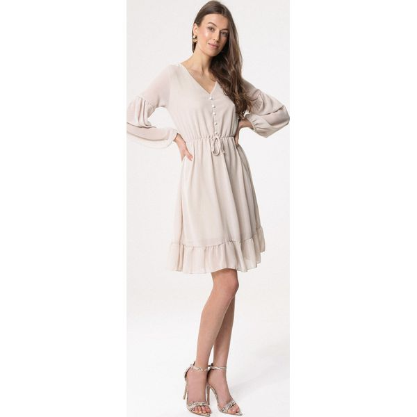 f48e89c8 Beżowa Sukienka Lighten