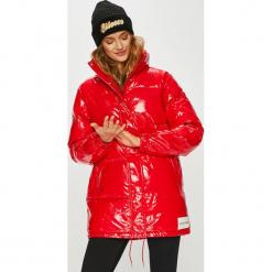 Calvin Klein Jeans - Kurtka. Czerwone kurtki damskie Calvin Klein Jeans, z jeansu. Za 1,199.00 zł.