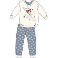 Piżama Kids Girl 040/90 Pretty Girl ecru r. 92. Szare bielizna dla dziewczynek Cornette. Za 53.43 zł.