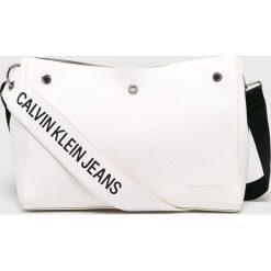 Calvin Klein Jeans - Torebka. Szare torby na ramię damskie Calvin Klein Jeans. Za 599.90 zł.