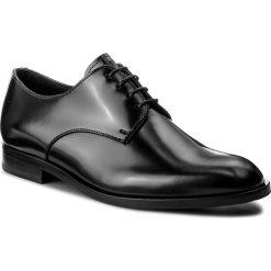 Półbuty EMPORIO ARMANI - X4C443 XAT04 00002 Black. Czarne eleganckie półbuty Emporio Armani, ze skóry. W wyprzedaży za 999.00 zł.