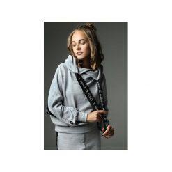 Bluza Go Sky High - szara. Szare bluzy damskie Madnezz, z aplikacjami, z bawełny. Za 299.00 zł.