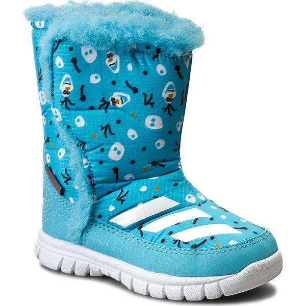 40a6e21604a3a Śniegowce adidas - Disney Frozen Mid I AQ2907 Vapblu Ftwwht - Buty ...
