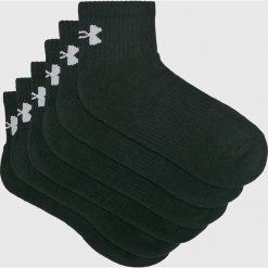 Under Armour - Skarpety (6-pack). Czarne skarpety męskie Under Armour, z bawełny. W wyprzedaży za 79.90 zł.