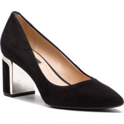 Półbuty DKNY - Elie J3869899 Black. Czarne półbuty damskie DKNY, ze skóry, eleganckie. Za 559.00 zł.
