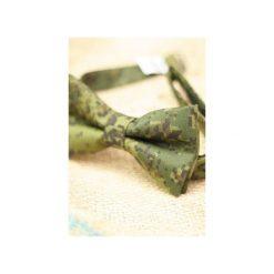 Mucha Camouflage. Szare krawaty i muchy Edyta kleist, z bawełny, eleganckie. Za 99.00 zł.