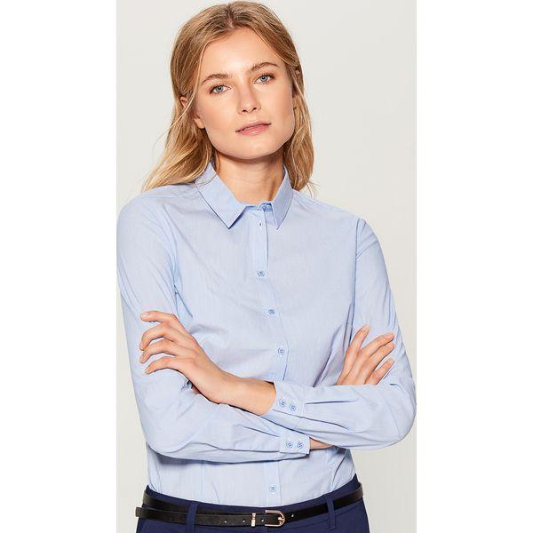 e3fd5480a52e03 Koszula z body - Niebieski - Koszule damskie Mohito. W wyprzedaży za ...