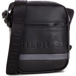 Saszetka TOMMY HILFIGER - Offshore Mini Reporter AM0AM04233 901. Czarne saszetki męskie Tommy Hilfiger, ze skóry ekologicznej, młodzieżowe. Za 319.00 zł.
