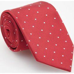 Krawat - Czerwony. Czerwone krawaty i muchy Reserved. Za 49.99 zł.