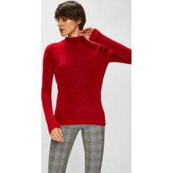 Medicine - Sweter Basic. Szare swetry damskie MEDICINE, z dzianiny, z dekoltem w łódkę. Za 99.90 zł.
