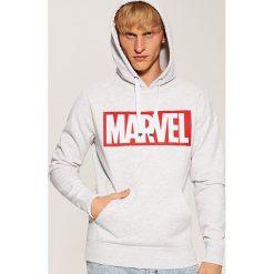Bluza z nadrukiem Marvel - Jasny szar. Szare bluzy męskie House, z motywem z bajki. Za 119.99 zł.