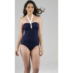 Dorina - Strój kąpielowy. Szare kostiumy jednoczęściowe damskie Dorina. W wyprzedaży za 89.90 zł.