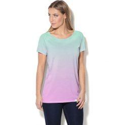 Colour Pleasure Koszulka CP-034 62 turkusowo-różowa r. M-L. T-shirty damskie Colour Pleasure. Za 70.35 zł.