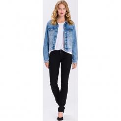 """Dżinsy """"Melissa"""" - Skinny fit - w kolorze czarnym. Czarne jeansy damskie Cross Jeans. W wyprzedaży za 136.95 zł."""