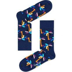 Happy Socks - Skarpety Palm. Niebieskie skarpety męskie Happy Socks. W wyprzedaży za 27.90 zł.