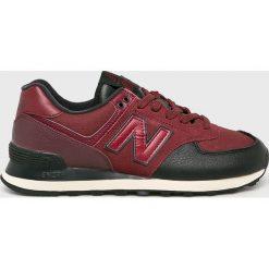 New Balance - Buty. Brązowe buty sportowe męskie New Balance, z gumy. W wyprzedaży za 299.90 zł.