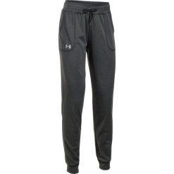 Under Armour Spodnie Dresowe Tech Pant Solid Carbon Heather Metallic Silver S. Brązowe spodnie dresowe damskie Under Armour, z dresówki. W wyprzedaży za 139.00 zł.