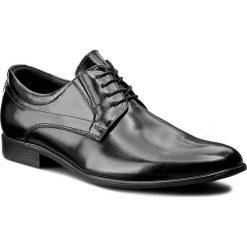 Półbuty LASOCKI FOR MEN - A-5462 Czarny. Czarne eleganckie półbuty Lasocki For Men, z materiału. Za 229.99 zł.
