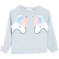 Jasnoszara Bluza Fresh Ideas. Szare bluzy dla dziewczynek Born2be. Za 59.99 zł.