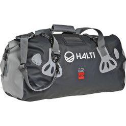"""Torba sportowa """"Splash Bag 40"""" w kolorze antracytowym - 60 x 30 x 25 cm. Torby podróżne damskie Halti & Raiski, w paski, z tworzywa sztucznego. W wyprzedaży za 165.95 zł."""