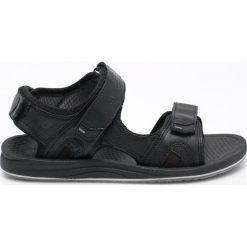 New Balance - Sandały Recharge. Czarne sandały męskie New Balance, z elastanu. W wyprzedaży za 149.90 zł.