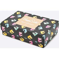 Happy Socks - Skarpetki Singing Happy Birthday (3-pack). Szare skarpety damskie Happy Socks, z bawełny. W wyprzedaży za 99.90 zł.