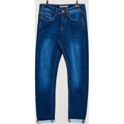 Ocieplane jeansy COMFORTY - Niebieski. Niebieskie jeansy męskie Cropp. Za 149.99 zł.