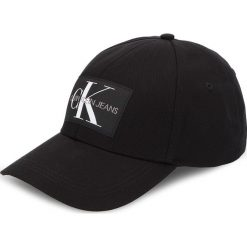 Czapka z daszkiem CALVIN KLEIN JEANS - J Monogram Cap W K40K400753 016. Czarne czapki i kapelusze damskie Calvin Klein Jeans. Za 159.00 zł.