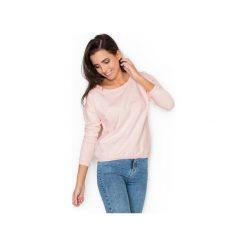 Bluza K235 Róż. Czerwone bluzy damskie Katrus, z bawełny. Za 89.00 zł.