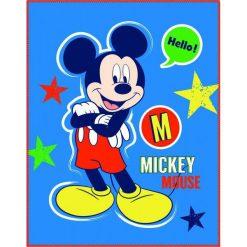 CTI Fleece Kocyk Mickey Expression 110X140 Cm. Kocyki dla dzieci marki Pulp. Za 35.00 zł.