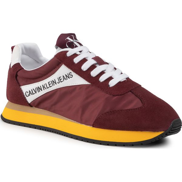 Sneakersy CALVIN KLEIN JEANS Jerrold S0615 Multi Beet Red