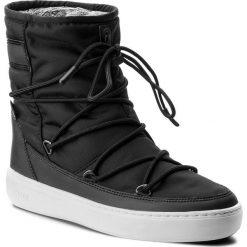 Śniegowce MOON BOOT - Pulse Nylon Plus Wp 24102500006 Nero/Argento. Czarne śniegowce i trapery damskie Moon Boot, z materiału. Za 679.00 zł.