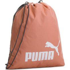 Plecak PUMA - Phase Gym Sack 074943 28 Różowy. Czerwone plecaki damskie Puma, z materiału, sportowe. Za 49.00 zł.