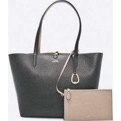 Lauren Ralph Lauren - Torebka. Szare torby na ramię damskie Lauren Ralph Lauren. Za 769.90 zł.
