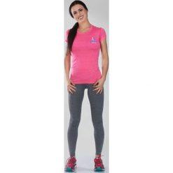 """Ground Game Sportswear Koszulka damska Rashguard Light """"Melange Pink"""" krótki rękaw Różowa r. XS. T-shirty damskie Ground Game Sportswear. Za 119.00 zł."""