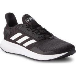 Buty adidas - Duramo 9 BB7066 Cblack/Ftwwht/Cblack. Czarne buty sportowe męskie Adidas, z materiału. W wyprzedaży za 189.00 zł.