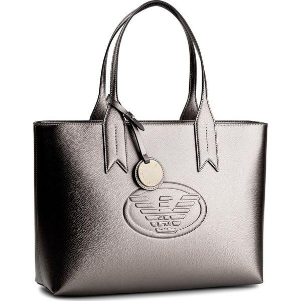 1015e5ee1a3d9 Torebka EMPORIO ARMANI - Y3D099 YH18A 80233 Stell - Szare torebki do ręki  damskie marki Emporio Armani