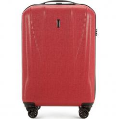 Walizka Mała 56-3P-961-30. Różowe walizki damskie Wittchen, z gumy. Za 159.00 zł.