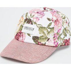 True Spin - Czapka Bloom. Szare czapki i kapelusze damskie True Spin, z bawełny. W wyprzedaży za 59.90 zł.