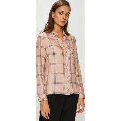 Tally Weijl - Koszula. Różowe koszule damskie TALLY WEIJL, w kratkę, z tkaniny, casualowe, z klasycznym kołnierzykiem, z długim rękawem. Za 89.90 zł.