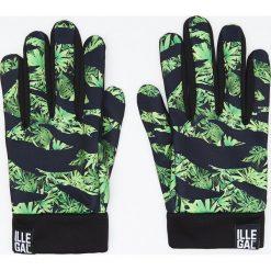 Rękawiczki - Zielony. Zielone rękawiczki męskie Cropp. Za 49.99 zł.