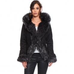 """Kurtka """"Elie"""" w kolorze czarno-szarym. Czarne kurtki damskie Cosy Winter, na zimę. W wyprzedaży za 363.95 zł."""